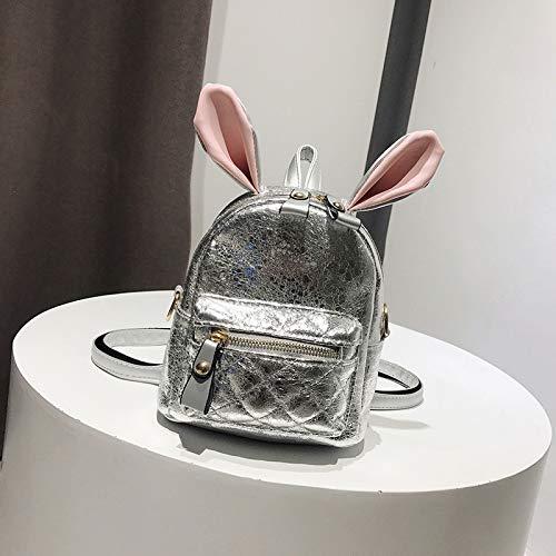 argento versione argento femminile Zaino piccola a WSLMHH selvaggia della zaino coreana marea borsa personalità tracolla ragazza mini 1Zgntw