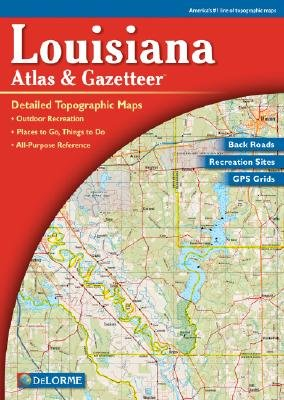 Louisiana Atlas Gazetteer Delorme Mapping Company Amazoncom