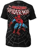 Men's Marvel Comics Spider-man Amazing Spiderman Big Print Subway T-shirt
