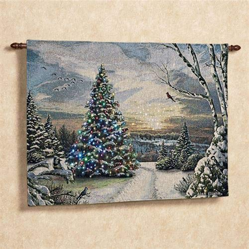 Christmas Morning II Lighted Wall Hanging