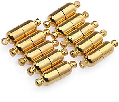10Pcs Magnetic Jewelry Clasps for Bracelet Necklace Making Fitting Accessory