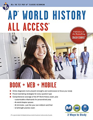 AP World History All Access Book + Online