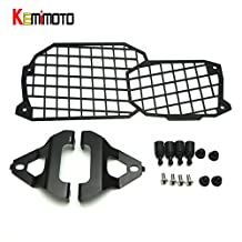 TecGeo(TM) F700GS Quick Release Stainless Steel Headlight Guard Cover Protector for BMW F800GS ADV F700GS F650GS 2008 2009 Up