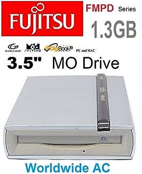 Fujitsu 1 3gb Gigamo Mo Magneto Optical Drive 3 5 Usb 3 5 Worldwide