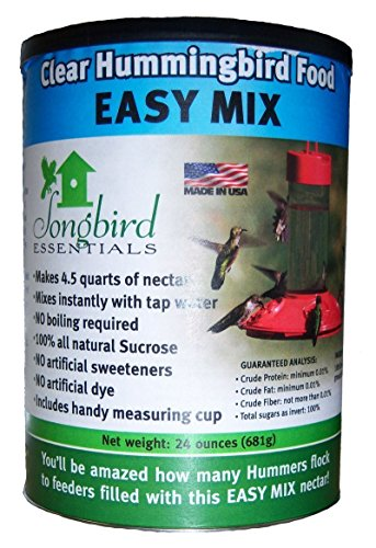 Songbird Essentials SE629 Clear Hummingbird Nectar 96 Ounces (4 Containers of 24 oz/ea)