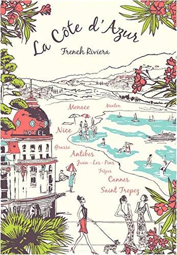 TORCHONS & BOUCHONS - French LA COTE D'AZUR (French Riviera) Cotton Kitchen - Kitchen Riviera