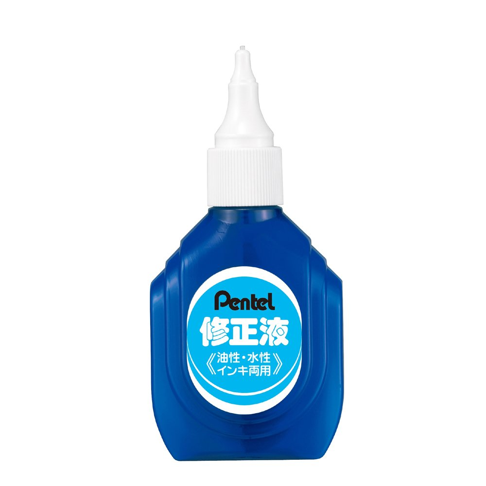 Pentel correction fluid oil-based, water-based ink dual XEZL1-W [10 pack]