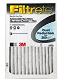 Filtrete Clean Living Basic Dust AC Furnace Air Filter, MPR 300, 16 x 25 x 1-Inches, 6-Pack