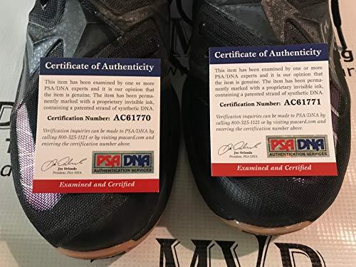 sports shoes cd5c8 2107c PSA DNA Authentic Jordan Clarkson Autograph Game Worn Nike LeBron James  VIII Basketball Shoes Size 13   Sports Collectibles