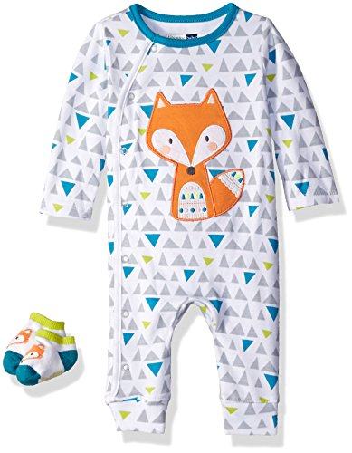 vitamins-baby-boys-2-piece-coverall-set-fox-3-months