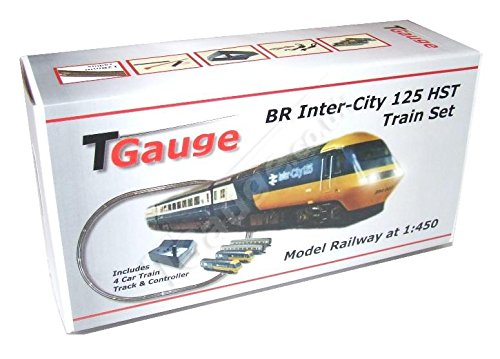 1:450 Scale BR Inter-City 125 HST Starter Set w/132.5mm Loop Track (Intercity Train)