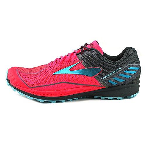 Brooks Mazama, Zapatos para Correr para Mujer Multicolor (Diva Pink/anthracite/bluefish)