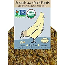 Phoenix Organic Naturally Free Starter Chick Feed Non Gmo Soy and Corn Free 5 lb