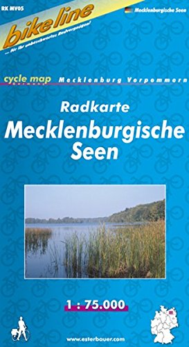 bikeline - Radkarte Mecklenburgische Seen  (MV 5)
