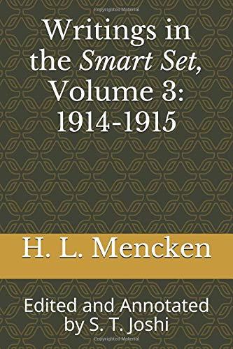 Amazon com writings in the smart set volume 3 1914 1915 edited
