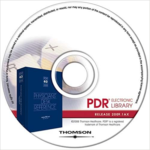 Download online Physicians' Desk Reference Electronic Library PDR 2009 PDF, azw (Kindle)
