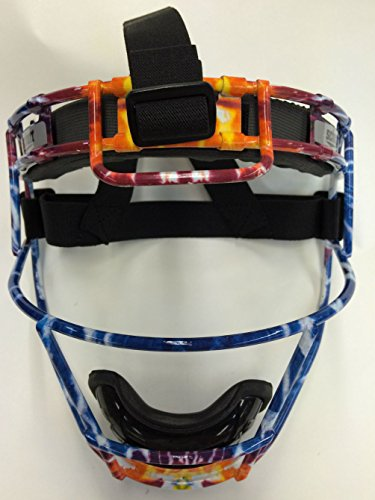 Youth Custom Schutt Tie Dye Infielder Face Guard by Schutt