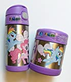 My Little Pony Thermos Funtainer Bottle & Food Jar Set