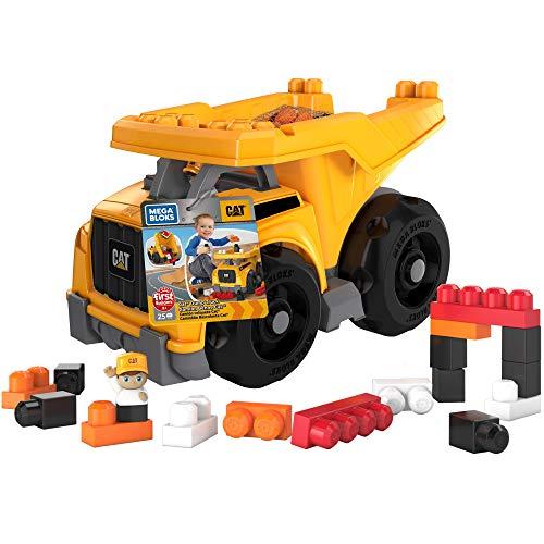 Mega Bloks Cat Large Dump Truck, Multi Color