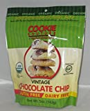 COOKIE COUTURE, CKIE, OG2, VINTAGE CHOC CHP, Pack of 12, Size 5 OZ - No Artificial Ingredients Gluten Free Low Sodium Wheat Free Yeast Free 95%+ Organic