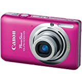 Canon PowerShot ELPH 100 HS 12.1 MP CMOS Digital Camera with 4X Optical Zoom (Pink) For Sale