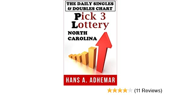 The daily singles & doubles chart: Pick 3 lottery (North Carolina)