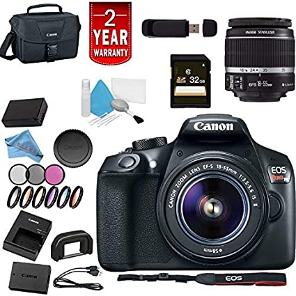 Canon EOS Rebel T6 - Kit de cámara réflex Digital: Amazon.es ...