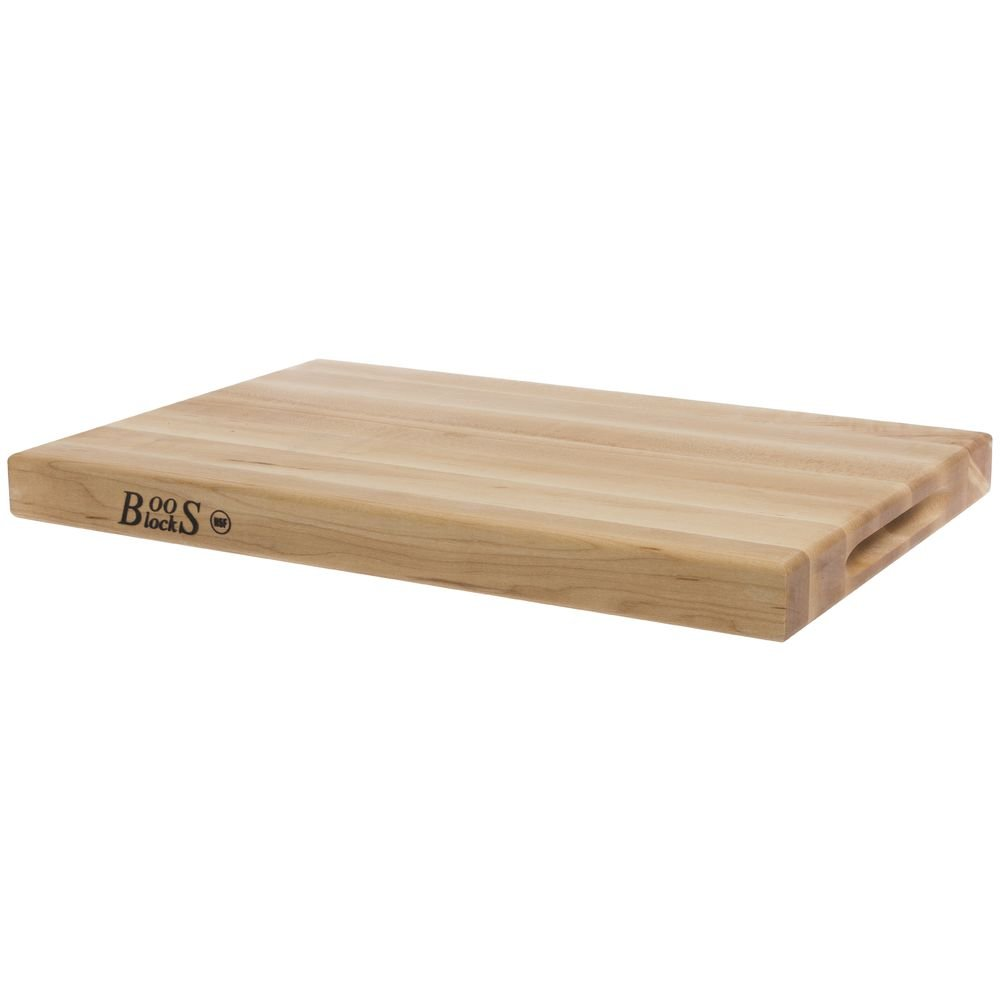 John Boos 18-by-12-Inch Reversible Maple Cutting Board