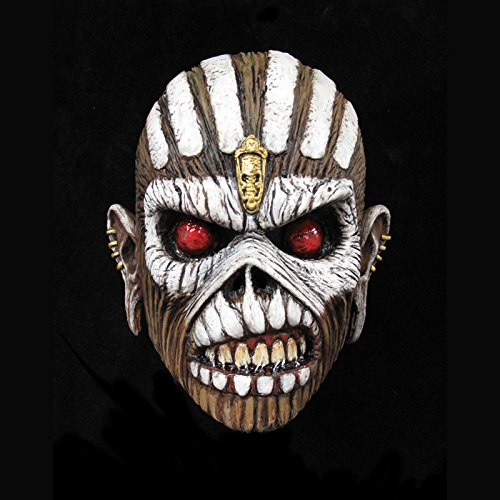 Loftus Trick Or Treat Studios Iron Maiden Book of Souls Full Head Mask, Multi, One-Size]()
