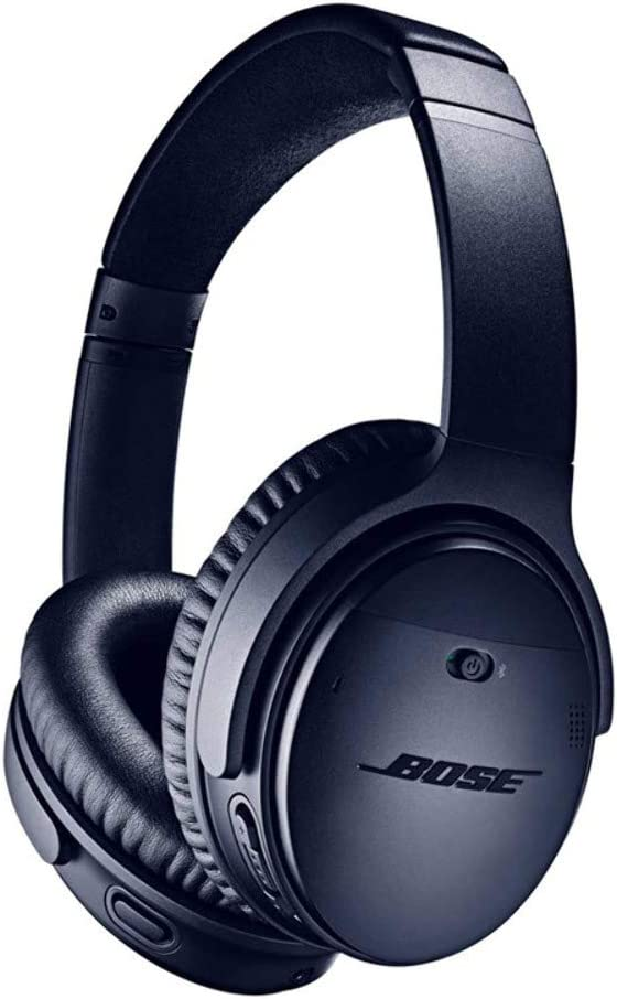 Amazon.com: Bose QuietComfort 35 (Series II) Wireless Headphones, Noise Cancelling, with Alexa voice control – Limited Edition Triple Midnight: Electronics