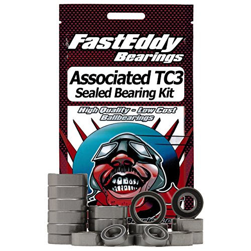 Associated TC3 Sealed Ball Bearing Kit for RC ()