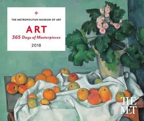 ART: 365 Days of Masterpieces 2018 Desk Calendar