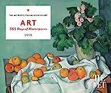 img - for ART: 365 Days of Masterpieces 2018 Desk Calendar book / textbook / text book