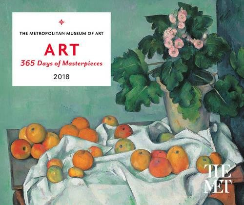 ART: 365 Days of Masterpieces 2018 Desk Calendar from Abrams