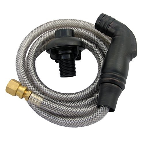 LASCO 08-1539 Kitchen Spray Head and Hose Assembly, Oil Rubbed Bronze