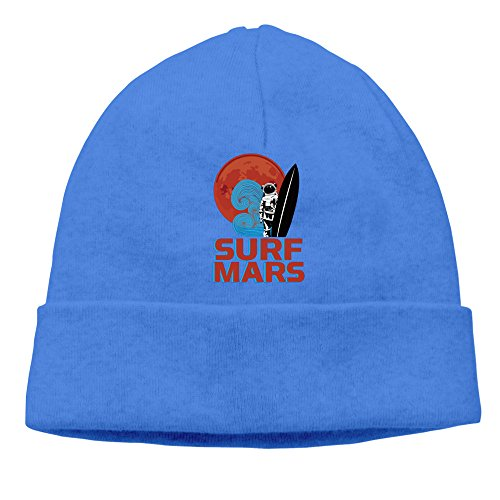 Surf Mars RoyalBlue Knit Baggy Beanies Caps