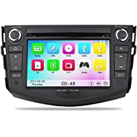 Car Headunit Stereo Radio for Toyota RAV4 2006-2012 built in 10pcs Virtual Disc support iPod Player 10-bands EQ
