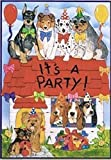 Cheap ART INTERNATIONAL It's a Party Birthday Garden Flag, 12″ L