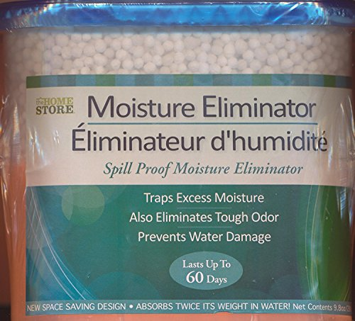 3-pack MOISTURE ELIMINATOR with CHARCOAL, absorbs twice i...