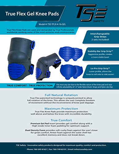 TSE Safety True Flex Heavy Duty Gel Knee Pads by TSE Safety (Image #4)