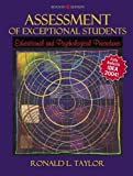 Assessment of Exceptional Students, Ronald L. Taylor, 0205453821