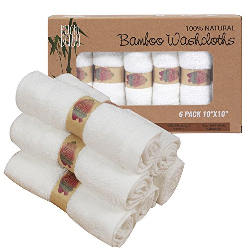 Cloth Gauze Diapers for Babies Set of 6 (White) - 1