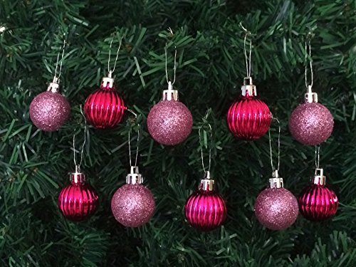 10PC Pack Shatterproof Christmas Ornaments
