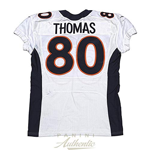 Julius Thomas Game Worn Denver Broncos Jersey From 11/2/2014 vs the New England Patriots ~Limited Edition 1/1~ - Panini Authentic - Panini Certified (New England Patriots Vs Denver Broncos 2014)