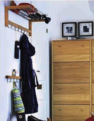 Ikea Tjusig Chapeau Porte Manteau En Chêne Doux 7 Crochet