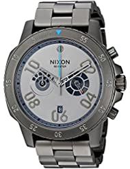 Nixon Mens Ranger Chrono SW, Millenium Falcon Gunmetal Quartz Stainless Steel Casual Watch, Color:Silver-Toned...