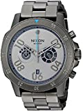Nixon Men's 'Ranger Chrono SW, Millenium Falcon Gunmetal' Quartz Stainless Steel Casual Watch, Color:Silver-Toned (Model: A549SW-2385-00)