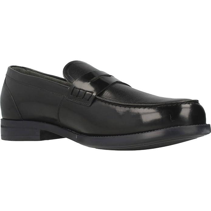 Mocasines para Hombre, Color Negro, Marca ANGEL INFANTES, Modelo Mocasines para Hombre ANGEL INFANTES 13045 Negro: Amazon.es: Zapatos y complementos