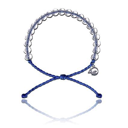 Boutique en ligne 8507c 7cf9b 4Ocean Pulsera con Encanto Hecha de 100% Material Reciclado Upcycled  Jewelry, Azul Distintivo, 1