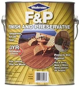RUST-OLEUM 14406 Redwood Finish/Preservative